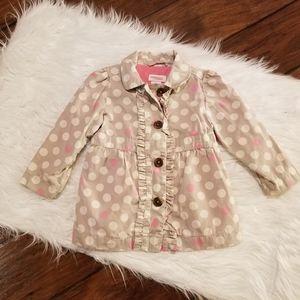 Genuine kids trench coat